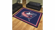 Fan Mats 17509  NHL - Columbus Blue Jackets 8' x 10' Area Rug