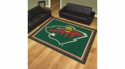 Fan Mats 17516  NHL - Minnesota Wild 8' x 10' Area Rug