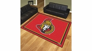 Fan Mats 17522  NHL - Ottawa Senators 8' x 10' Area Rug