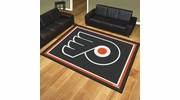 Fan Mats 17523  NHL - Philadelphia Flyers 8' x 10' Area Rug
