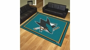 Fan Mats 17526  NHL - San Jose Sharks 8' x 10' Area Rug