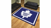 Fan Mats 17529  NHL - Toronto Maple Leafs 8' x 10' Area Rug