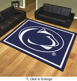 Fan Mats 17537  Penn State Nittany Lions 8' x 10' Area Rug
