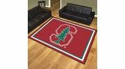 Fan Mats 17539  Stanford University Cardinal 8' x 10' Area Rug