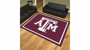 Fan Mats 17541  Texas A&M University Aggies 8' x 10' Area Rug