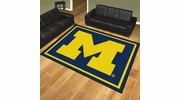 Fan Mats 17560  University of Michigan Wolverines 8' x 10' Area Rug