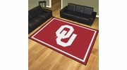 Fan Mats 17565  University of Oklahoma Sooners 8' x 10' Area Rug