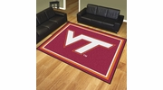 Fan Mats 17574  Virginia Tech Hokies 8' x 10' Area Rug