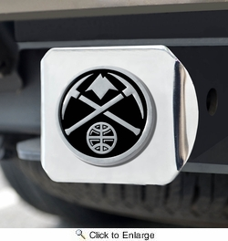 Fan Mats 17588  NBA - Denver Nuggets Hitch Cover