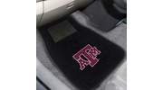 Fan Mats 17604  Texas A&M University Aggies 2-pc Embroidered Car Mat Set