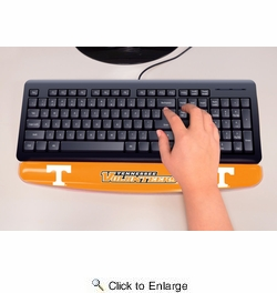 "Fan Mats 17765  University of Tennessee Volunteers 2"" x 18"" Gel Wrist Rest"