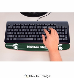 "Fan Mats 17783  Michigan State University Spartans 2"" x 18"" Gel Wrist Rest"