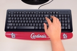 "Fan Mats 17797  MLB - St. Louis Cardinals 2"" x 18"" Gel Wrist Rest"