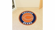 "Fan Mats 17954  NFL - Chicago Bears 27"" diameter Roundel Mat"