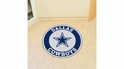 "Fan Mats 17956  NFL - Dallas Cowboys 27"" diameter Roundel Mat"