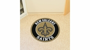 "Fan Mats 17967  NFL - New Orleans Saints 27"" diameter Roundel Mat"
