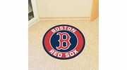 "Fan Mats 18129  MLB - Boston Red Sox 27"" diameter Roundel Mat"