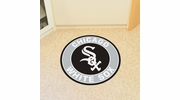 "Fan Mats 18131  MLB - Chicago White Sox 27"" diameter Roundel Mat"