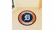 "Fan Mats 18135  MLB - Detroit Tigers 27"" diameter Roundel Mat"