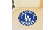 "Fan Mats 18139  MLB - Los Angeles Dodgers 27"" diameter Roundel Mat"