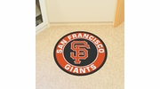 "Fan Mats 18149  MLB - San Francisco Giants 27"" diameter Roundel Mat"