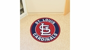 "Fan Mats 18151  MLB - St Louis Cardinals 27"" diameter Roundel Mat"
