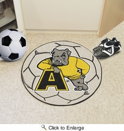 "Fan Mats 18375  Adrian College Bulldogs 27"" diameter Soccer Ball Mat"