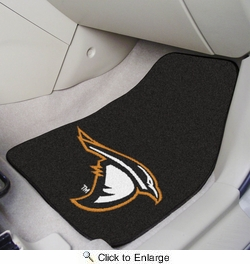 "Fan Mats 18427  Anderson University Ravens 17"" x 27"" 2-pc Carpet Car Mat Set"