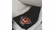 "Fan Mats 18442  Davenport University Panthers 17"" x 27"" 2-pc Carpet Car Mat Set"