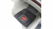 "Fan Mats 18443  Davenport University Panthers 17"" x 27"" 2-pc Vinyl Car Mat Set"
