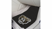 "Fan Mats 18448  Oakland University Golden Grizzlies 17"" x 27"" 2-pc Carpet Car Mat Set"