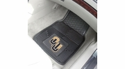 "Fan Mats 18449  Oakland University Golden Grizzlies 17"" x 27"" 2-pc Vinyl Car Mat Set"