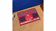"Fan Mats 18462  MLB - Boston Red Sox Baseball Club 19"" x 30"" Starter Mat"