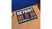 "Fan Mats 18468  MLB - Detroit Tigers Baseball Club 19"" x 30"" Starter Mat"