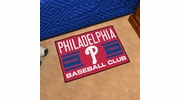 "Fan Mats 18479  MLB - Philadelphia Phillies Baseball Club 19"" x 30"" Starter Mat"