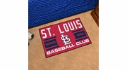 "Fan Mats 18484  MLB - St Louis Cardinals Baseball Club 19"" x 30"" Starter Mat"