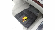"Fan Mats 18497  Ferris State University Bulldogs 17"" x 27"" 2-pc Vinyl Car Mat Set"