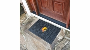 "Fan Mats 18499  Ferris State University Bulldogs 19.5"" x 31.25"" Medallion Door Mat"