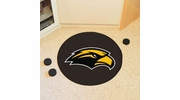 "Fan Mats 18591  University of Southern Mississippi Golden Eagles 27"" diameter Puck Mat"