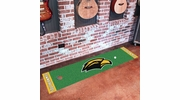 "Fan Mats 18592  University of Southern Mississippi Golden Eagles 18"" x 72"" Putting Green Mat"