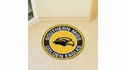 "Fan Mats 18593  University of Southern Mississippi Golden Eagles 27"" diameter Roundel Mat"
