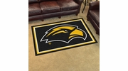 Fan Mats 18594  University of Southern Mississippi Golden Eagles 4' x 6' Area Rug