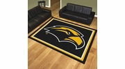 Fan Mats 18596  University of Southern Mississippi Golden Eagles 8' x 10' Area Rug