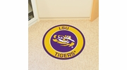 "Fan Mats 18616  Louisiana State University Tigers 27"" diameter Roundel Mat"