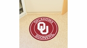 "Fan Mats 18630  University of Oklahoma Sooners 27"" diameter Roundel Mat"