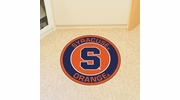 "Fan Mats 18638  Syracuse University Orange 27"" diameter Roundel Mat"