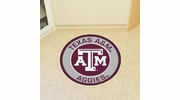 "Fan Mats 18642  Texas A&M University Aggies 27"" diameter Roundel Mat"