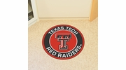 "Fan Mats 18644  Texas Tech University Red Raiders 27"" diameter Roundel Mat"
