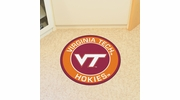 "Fan Mats 18646  Virginia Tech Hokies 27"" diameter Roundel Mat"
