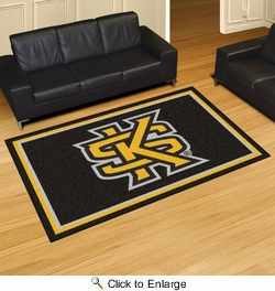 Fan Mats 18665  Kennesaw State University Owls 5' x 8' Area Rug